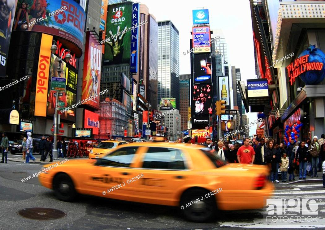Stock Photo: Times Square, Manhattan. New York City. USA.