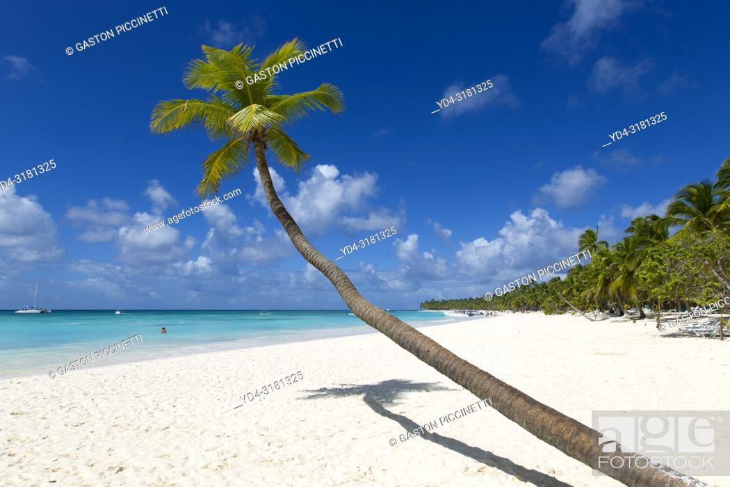 Stock Photo: Beautiful beach, Saona Island, Dominican Republic. Saona Island is located in the extreme southeast of the Dominican Republic.