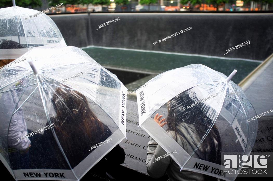 Stock Photo: National September 11 Memorial & Museum, Manhattan, New York, USA.