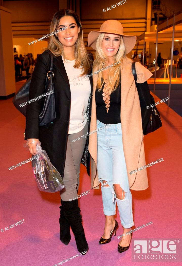 f481bd70e8 Stock Photo - Celebs attend the Clothes Show Live at the NEC Birmingham  Featuring  Chantelle Heskey