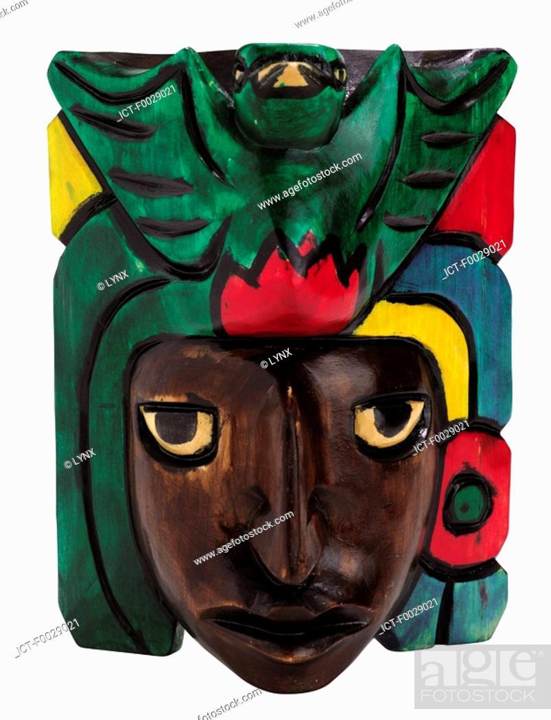Stock Photo: World symbols: Mask Guatemala.
