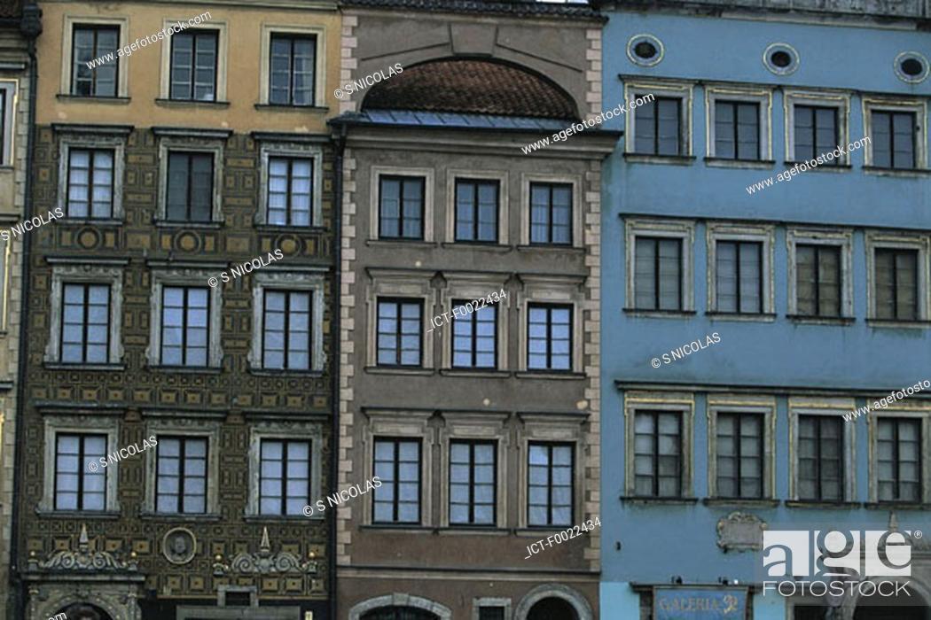 Stock Photo: Poland, Warsaw, old city.