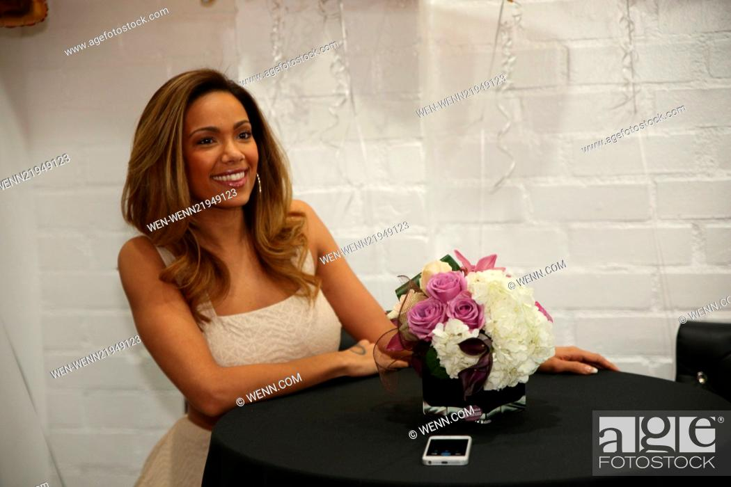Love hip hop new yorks erica mena meets and greets fans at stock photo love hip hop new yorks erica mena meets and greets fans at shoptherunways flagship store in los angeles featuring erica mena where m4hsunfo