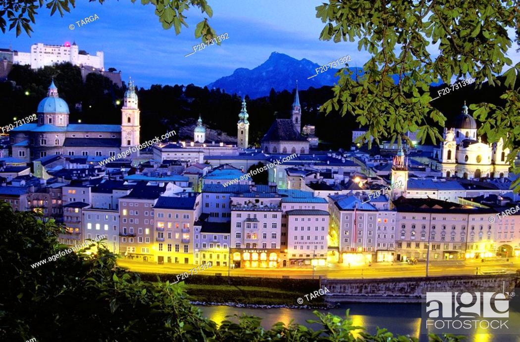 Stock Photo: Salzburg, Austria.