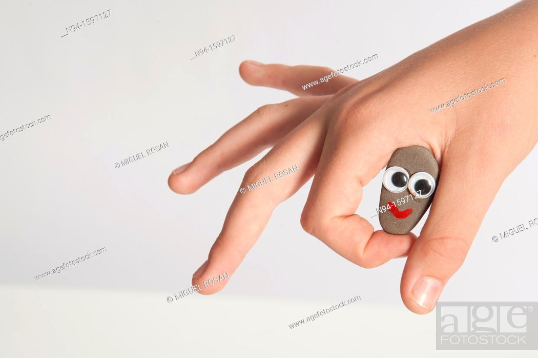 Stock Photo: Expressions hands.