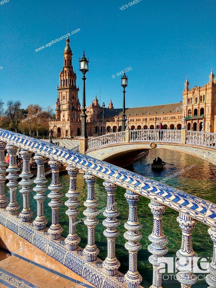 Imagen: España square, Seville, Andalusia, Spain.