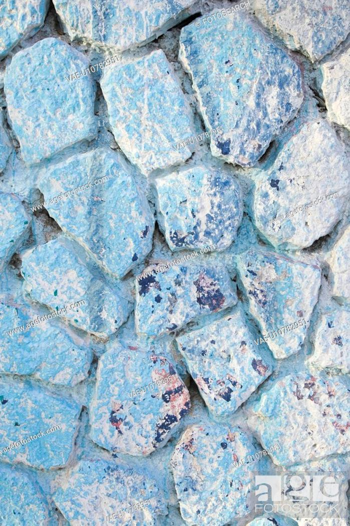 Stock Photo: Blue, Day, Close-Up, Arrangement.