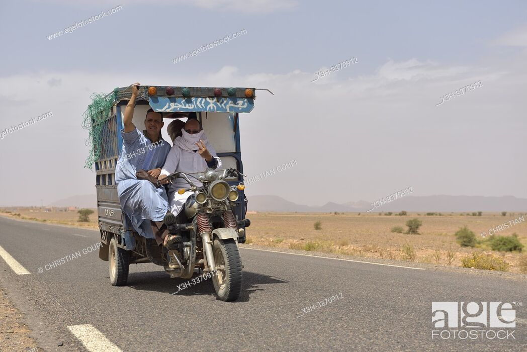 River Valley Auto >> Auto Rickshaw On The Road From Tamegroute Toward The South