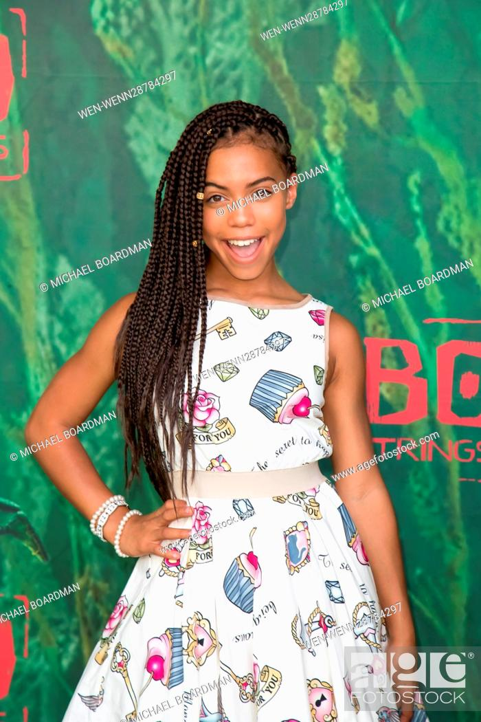 Stock Photo: 'Kubo and the Two Strings' Premiere Featuring: Asia Monet Ray Where: Universal City, California, United States When: 15 Aug 2016 Credit: Michael Boardman/WENN.