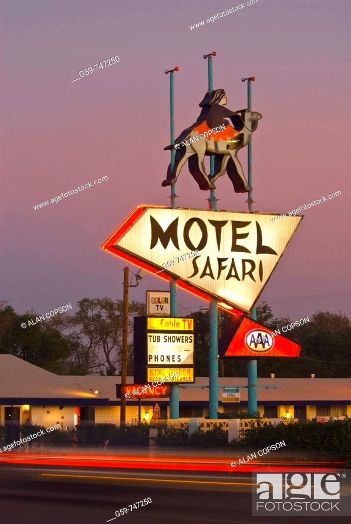 Imagen: USA  New Mexico  Route 66  Tucumcari.