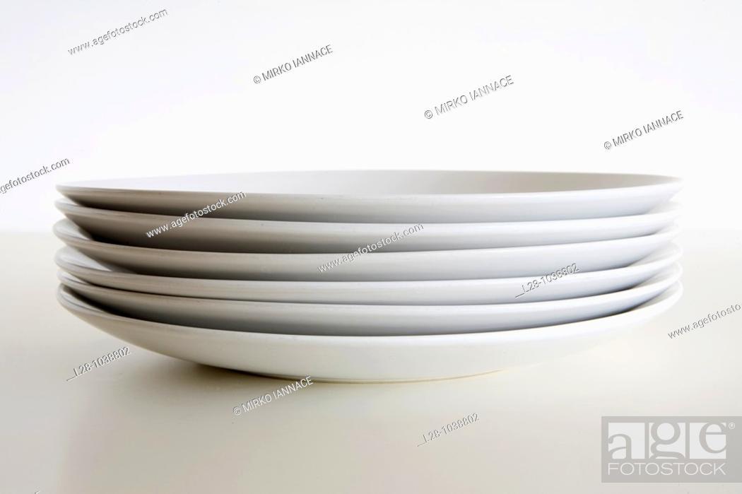 Stock Photo: still life dishes.