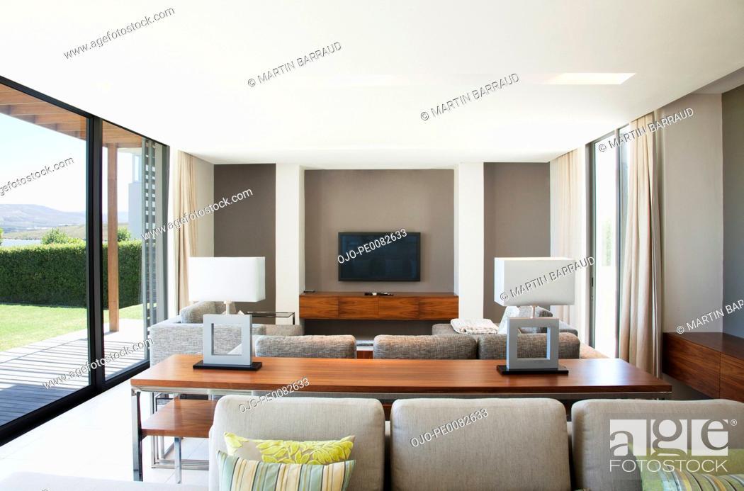 Stock Photo: Living room.