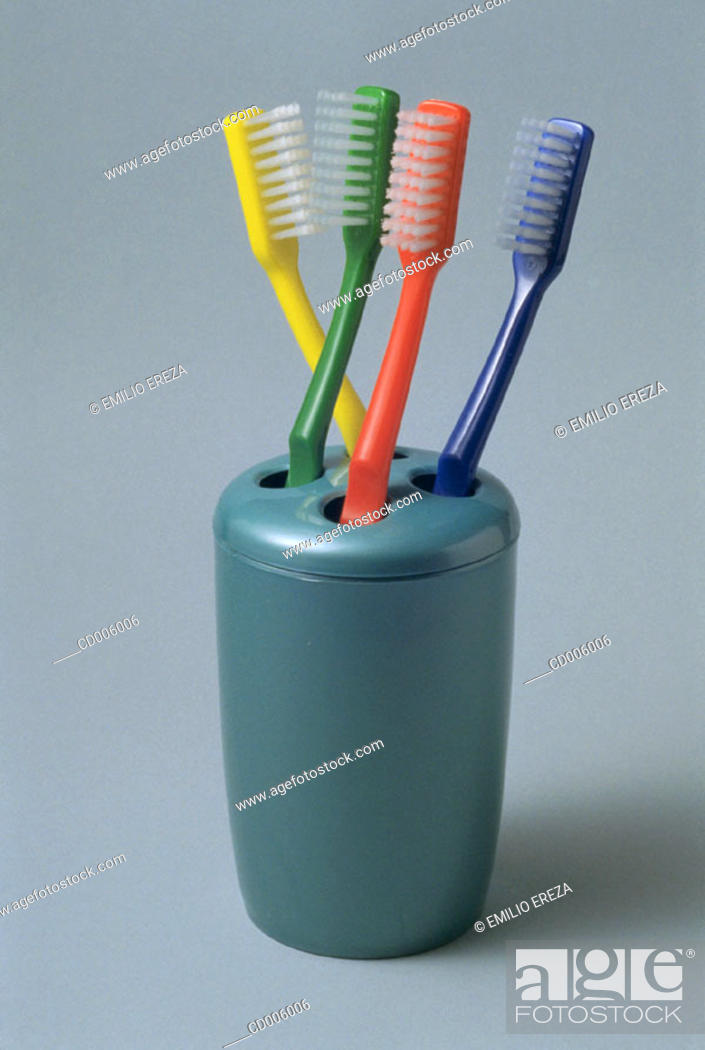 Stock Photo: Toothbrushes.
