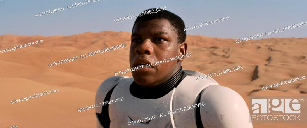 "Stock Photo: """"""Star Wars: Episode VII - The Force Awakens"""" (2015) John Boyega © 2015 Lucasfilm."