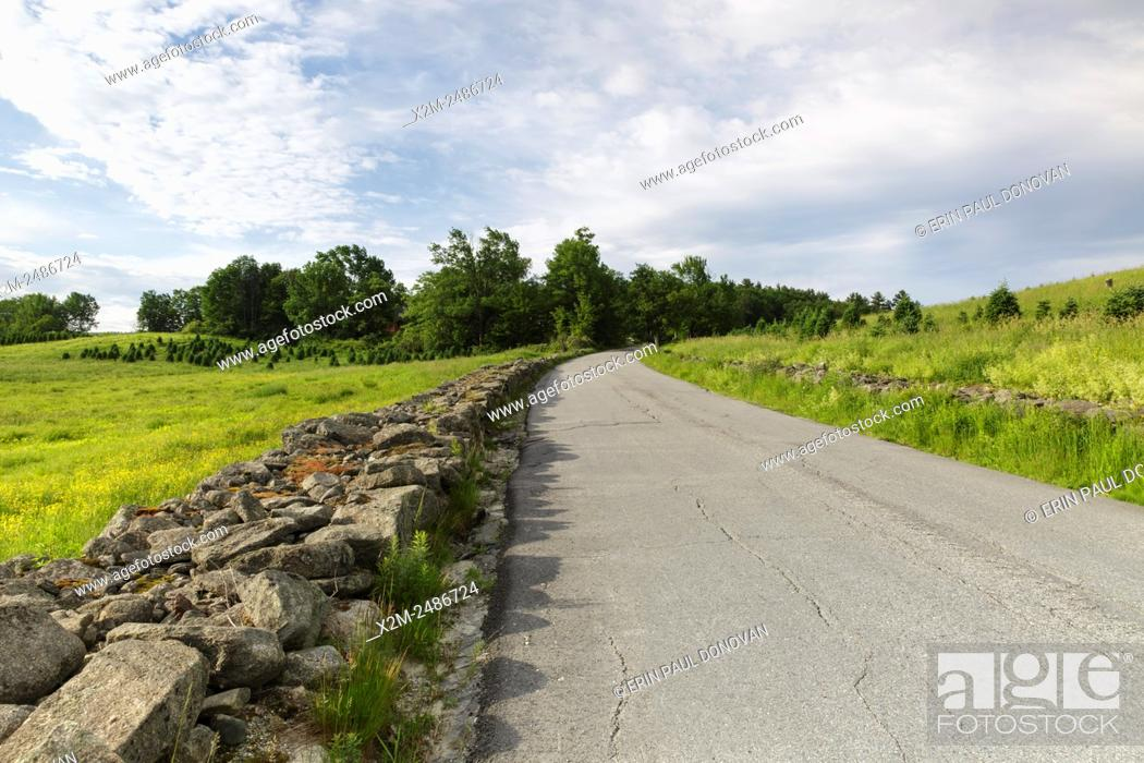 Stock Photo: The Rocks Estate in Bethlehem, New Hampshire USA during the spring months.
