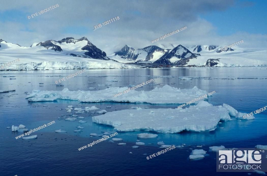 Imagen: Ice landscape.