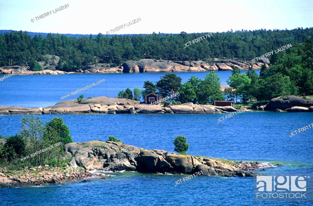 Stock Photo: Finland, Aran Islands.