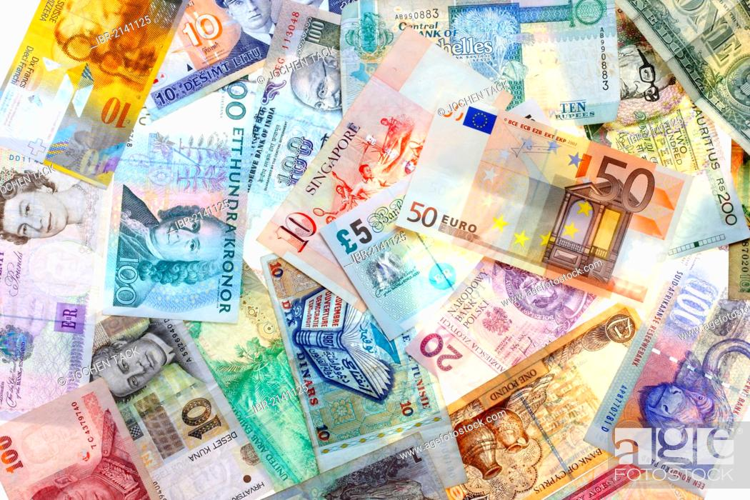 Banknotes Diffe Currencies From Around The World