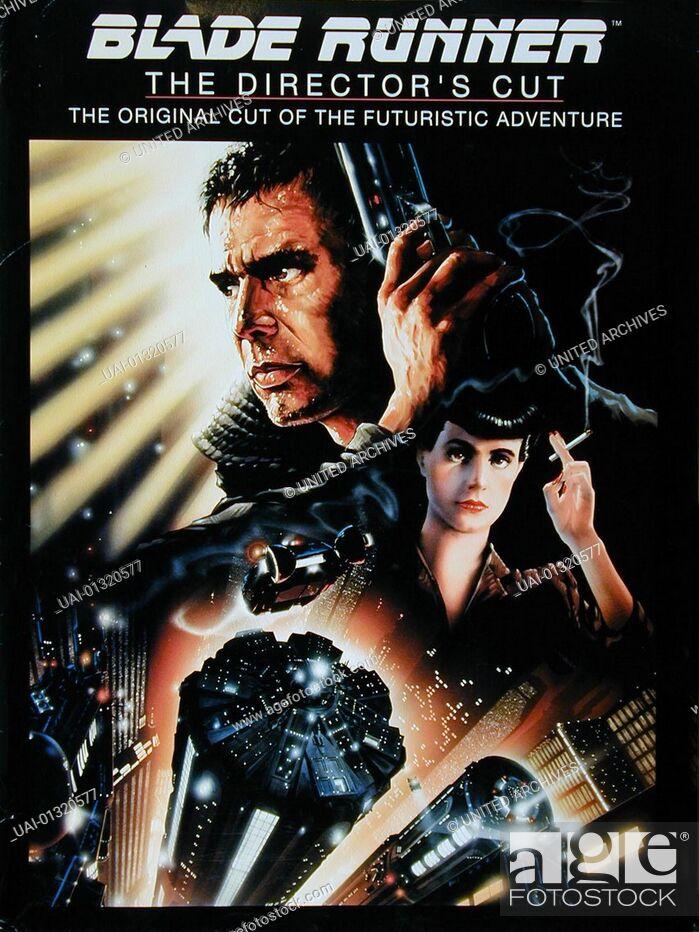 Stock Photo: Poster *** Local Caption *** 1982, Blade Runner, Der Blade Runner - Poster -.