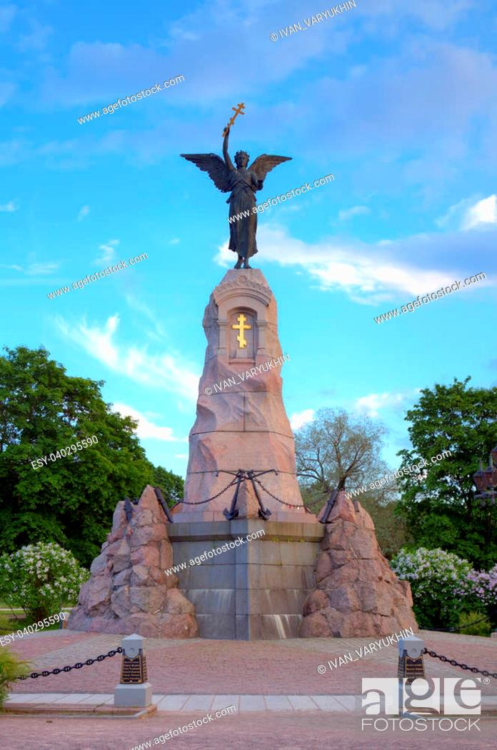 Stock Photo: The Russalka (Mermaid) Memorial. Tallinn, Estonia.
