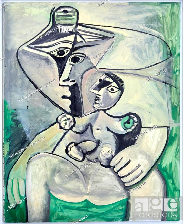 """Stock Photo: """"Maternité"""", 1971, Pablo Picasso, Picasso Museum, Paris, France, Europe."""