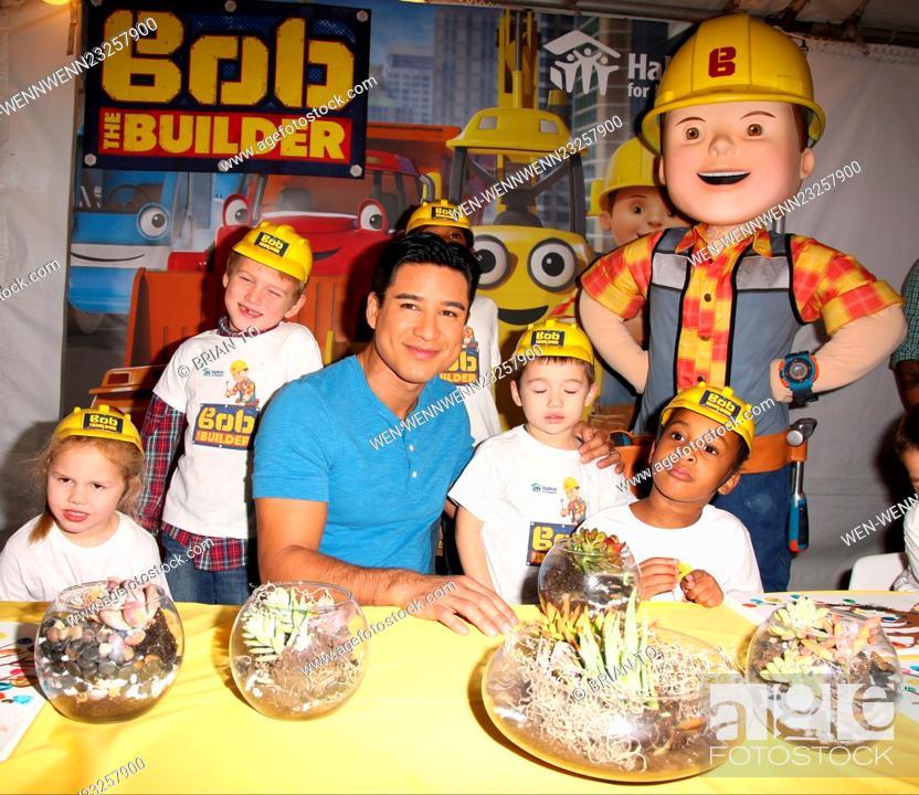 Mario Lopez Bob The Builder Help Habitat For Humanity