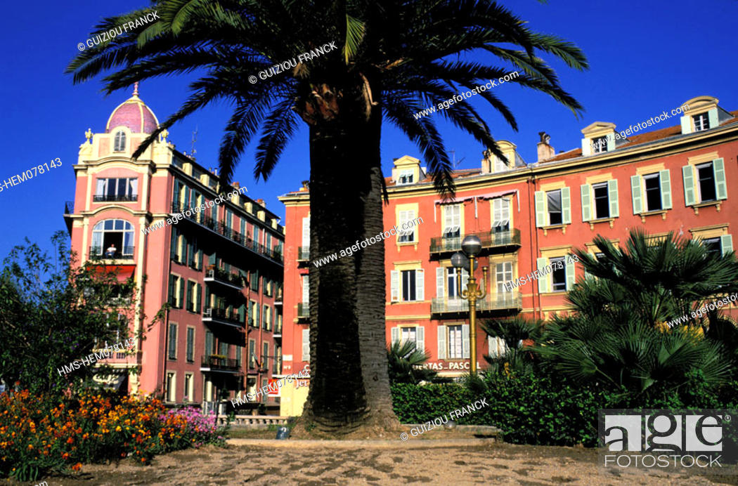 Stock Photo: France, Alpes-Maritimes (06), Nice old town.