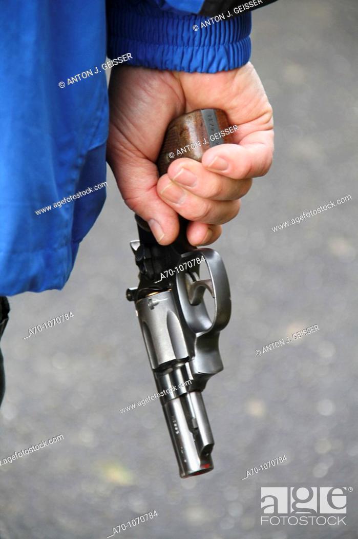 Stock Photo: Pistol.