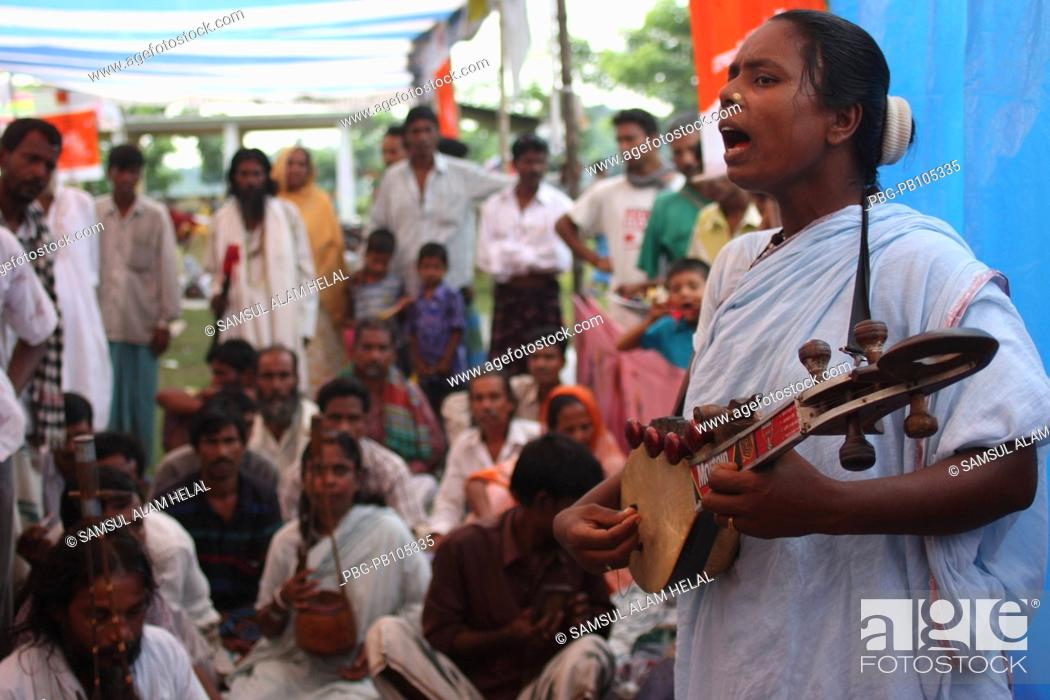 Stock Photo: To mark the 119th death anniversary of Fakir Lalon Shai, a three-day fair titled 'Lalon Mela' and musical programme starts from October 16 at Chheuria Lalon.