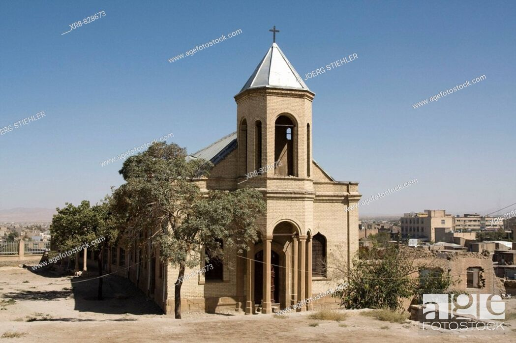 Stock Photo: Iran, Hamadan, St Stephanos Church.