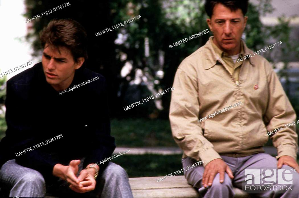 Rain Man 1988 Director Barry Levinson Actors Stars Dustin Hoffman Tom Cruise Valeria Golino Stock Photo Picture And Rights Managed Image Pic Uai Iftn 11813 01361726 Agefotostock