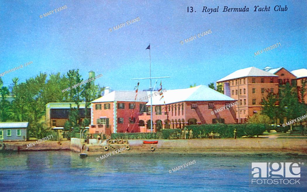 Stock Photo: Bermuda, Royal Bermuda Yacht Club.