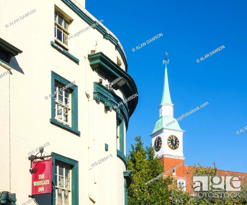 Stock Photo: The Westgate Inn on Romsey Road in Winchester, Hampshire, England, United Kingdom, Europe.