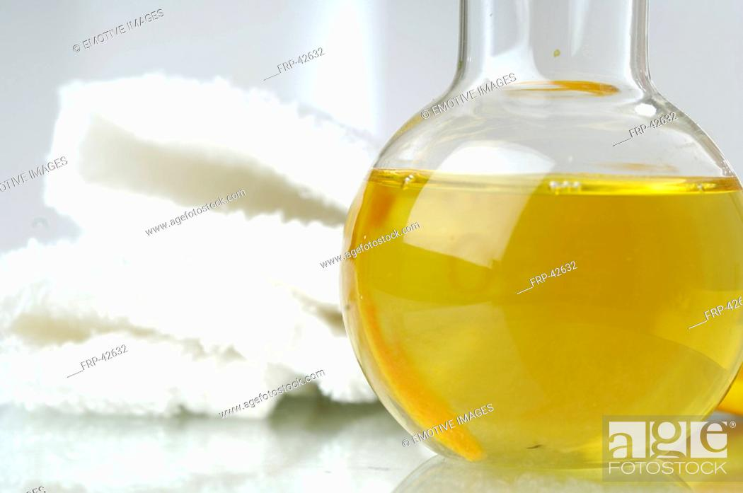 Stock Photo: Orange oil.