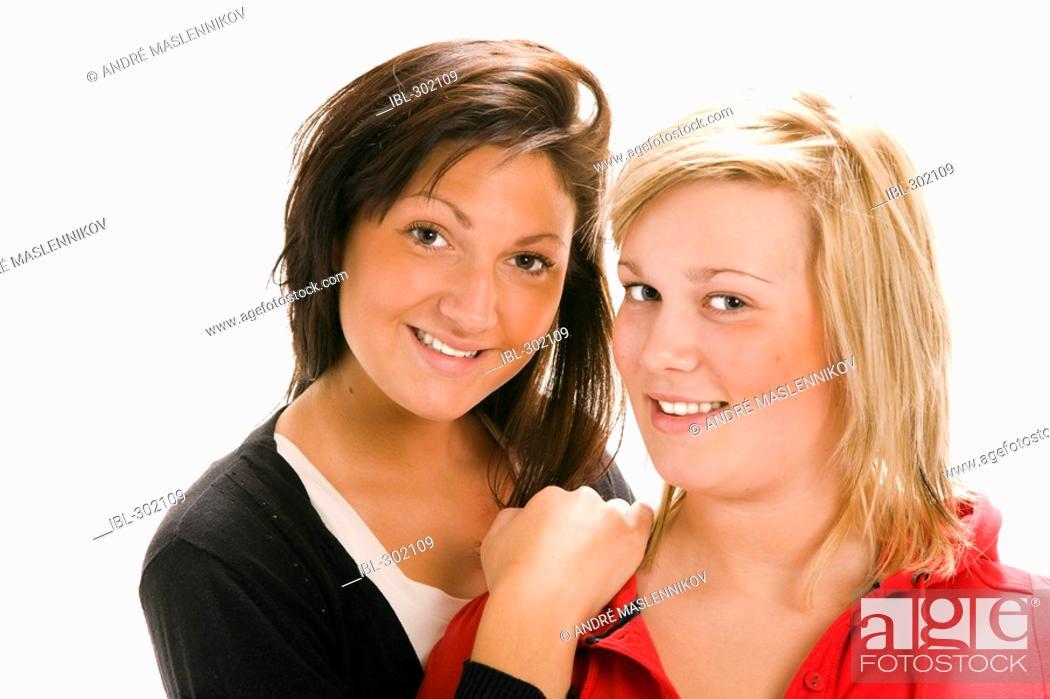 Stock Photo: Girl friends.