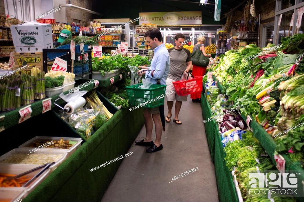 Chelsea Market Manhattan New York Usa Stock Photo