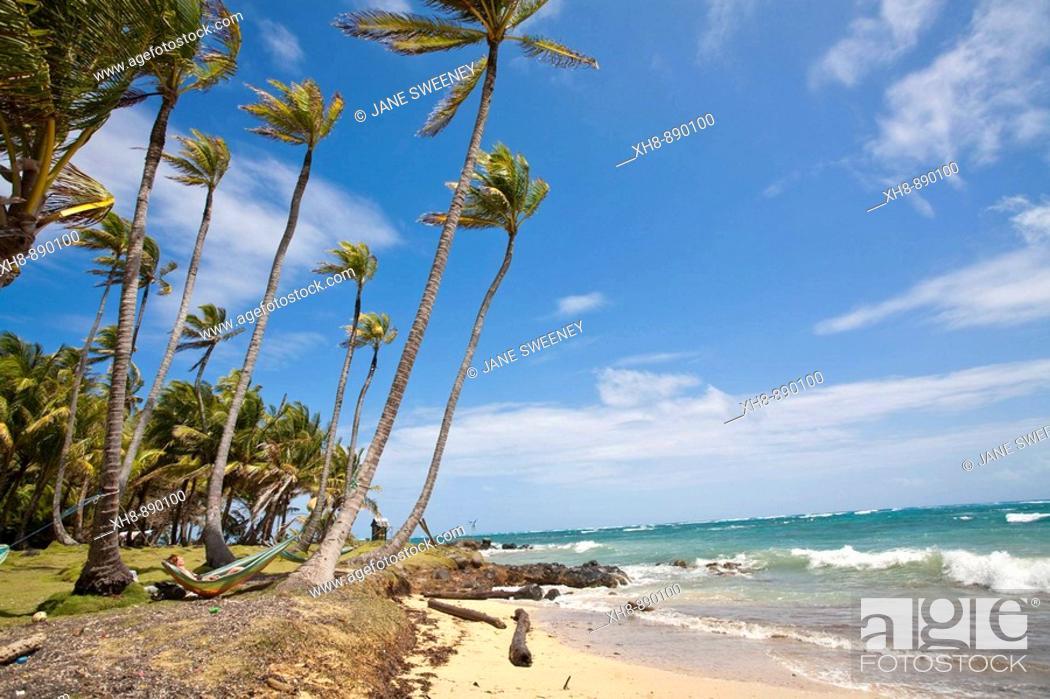 Stock Photo: Garret Point, Little Corn Island, Corn Islands, Nicaragua.