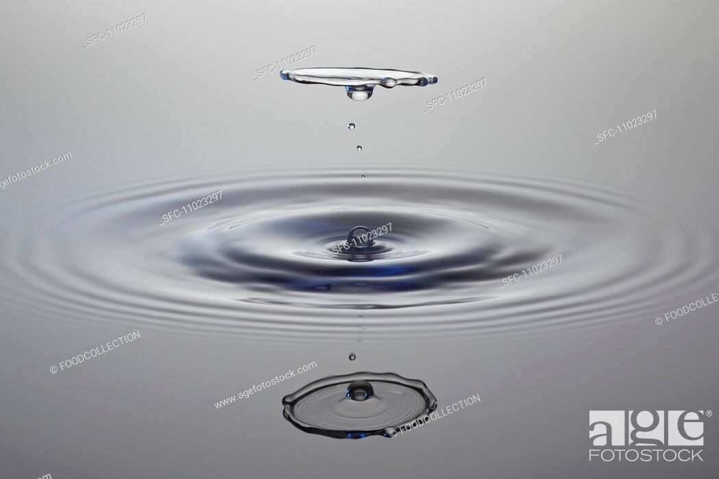 Stock Photo: Drops of water.