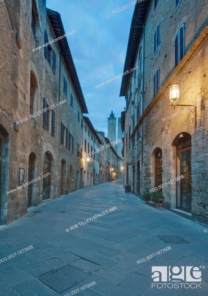 Stock Photo: Medieval Street.