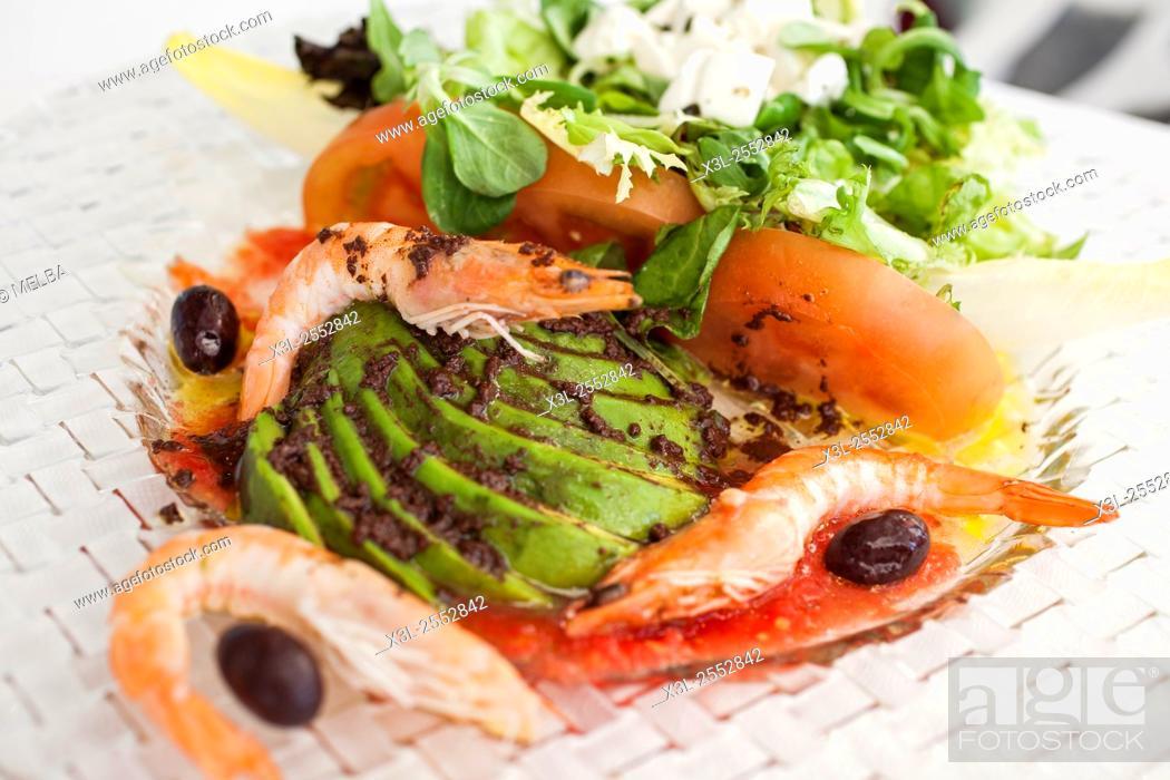 Stock Photo: Summer salad.