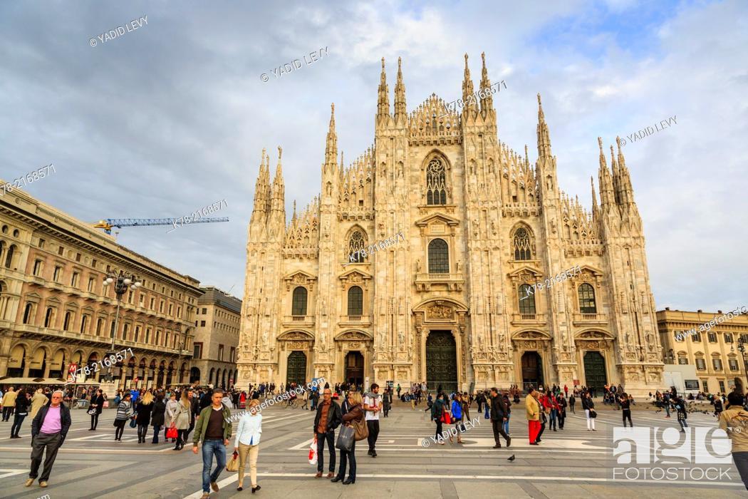 Photo de stock: Duomo Cathedral, Milan, Italy.