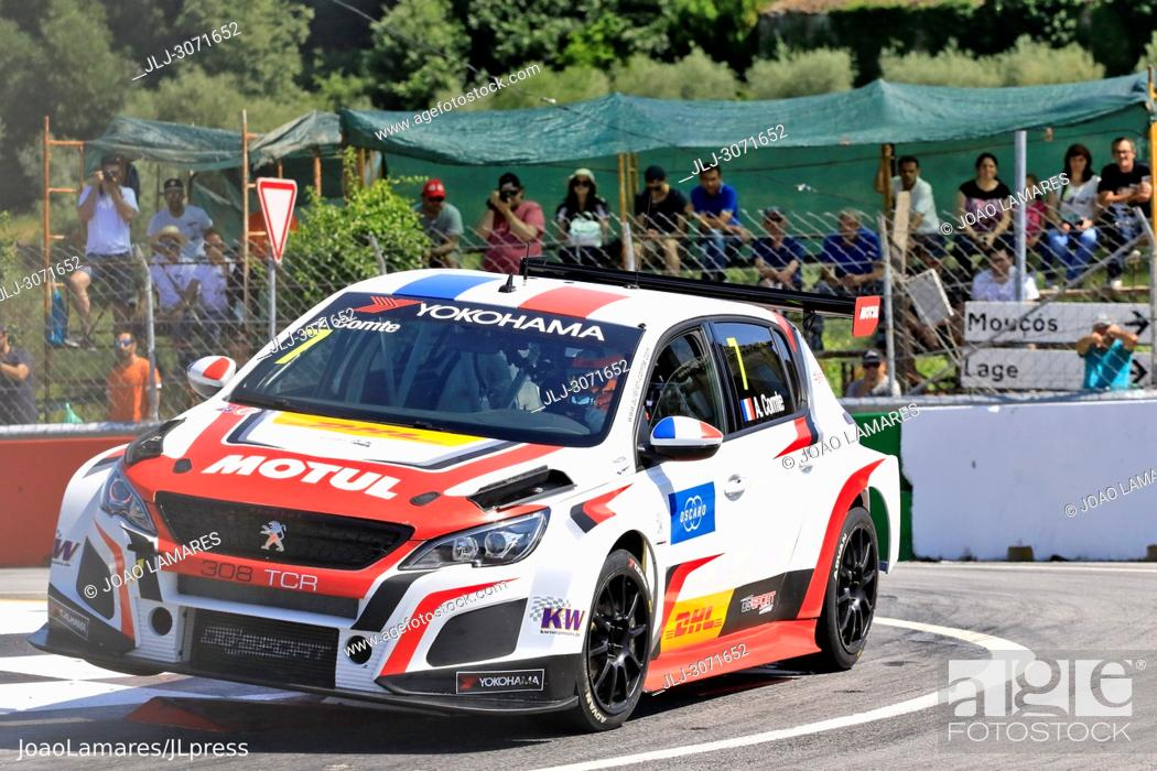 Wtcr 2018 Vila Real Race Of Portugal Pratice Action Comte