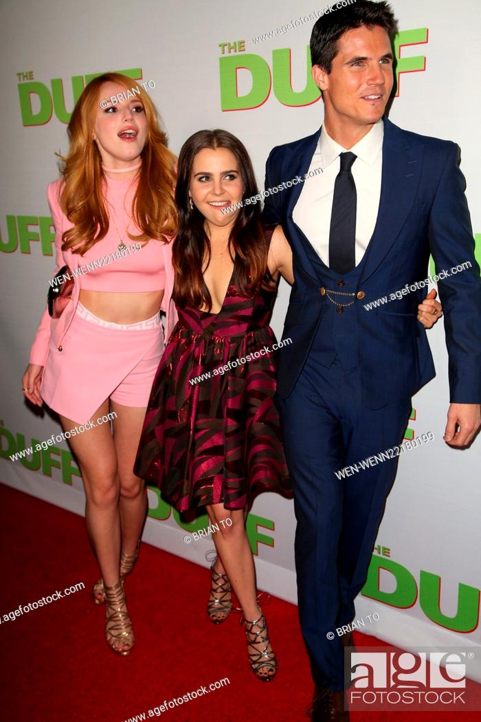 Los Angeles Fan Screening Of The Duff At Tcl Chinese 6 Theatres Red Carpet Arrivals Featuring Stock Photo Picture And Rights Managed Image Pic Wen Wenn22180199 Agefotostock