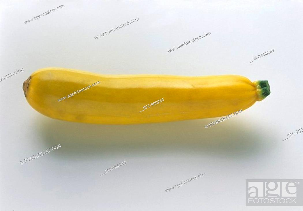 Stock Photo: A Summer Squash.