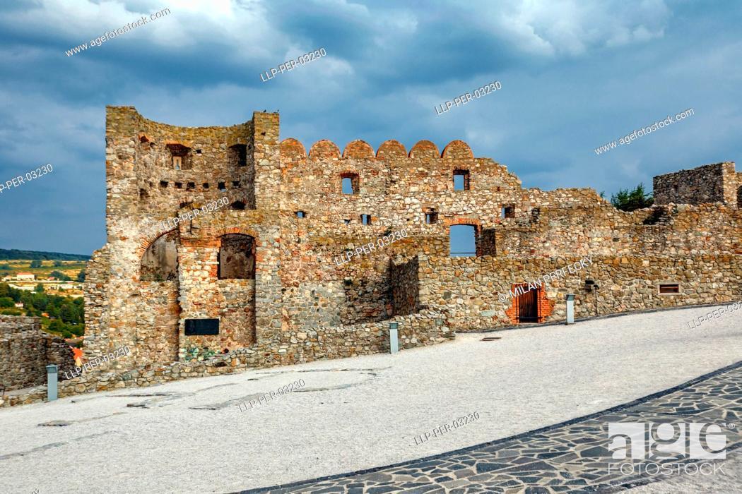Stock Photo: Castle, Devin, Bratislava - Slovakia.