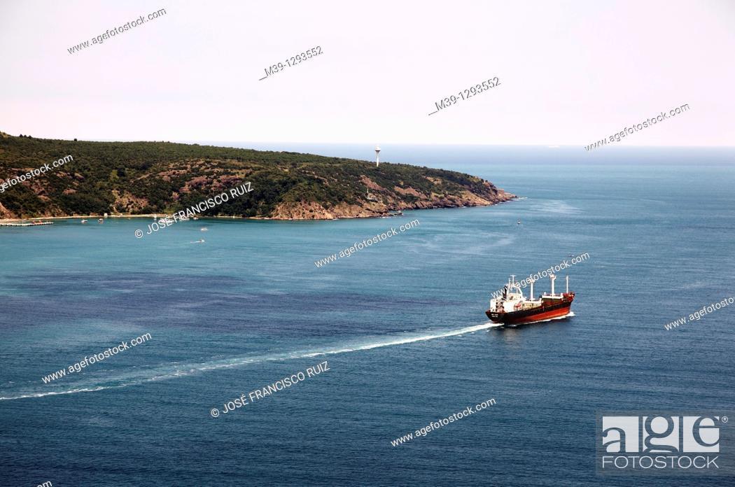 Stock Photo: Bosphorus, Blak Sea, Turkey, Istanbul.
