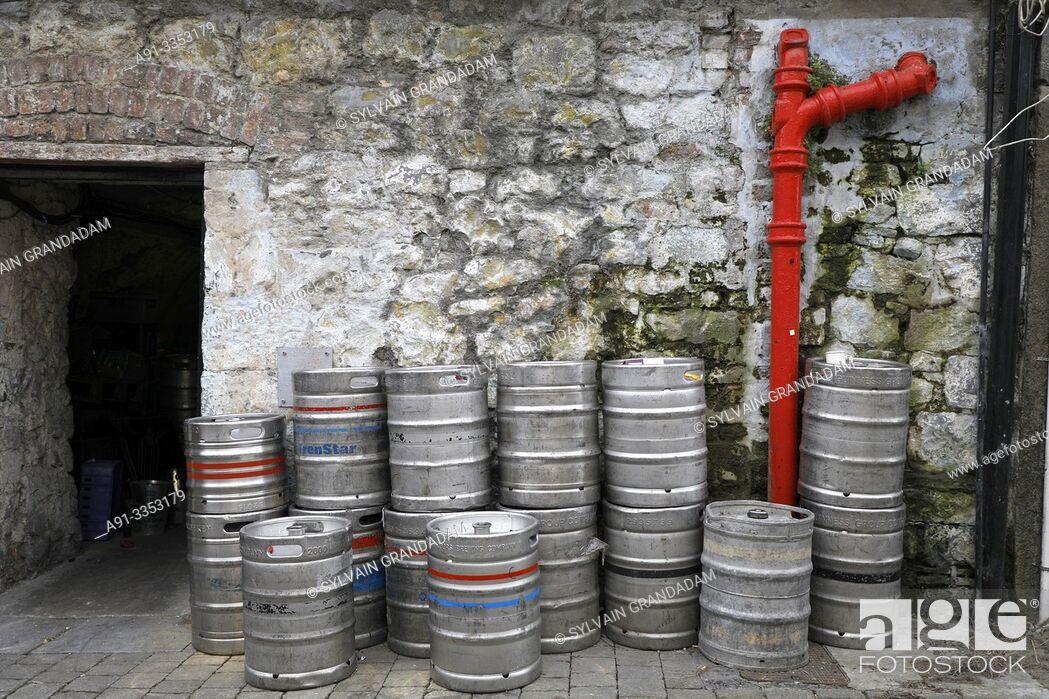 Stock Photo: Ireland, medieval city of Kilkenny, .