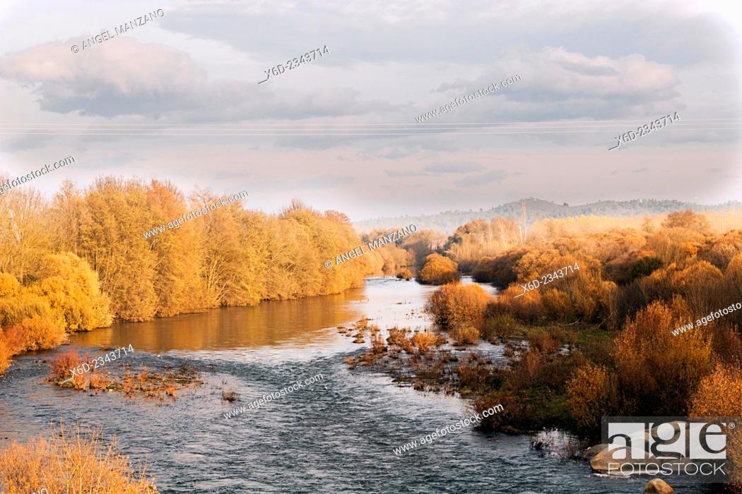 Stock Photo: Tietar river.