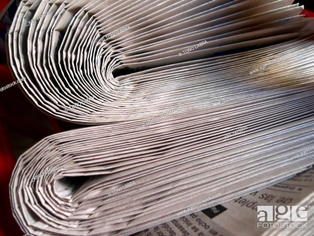 Stock Photo: Granma newspaper. Cuba.