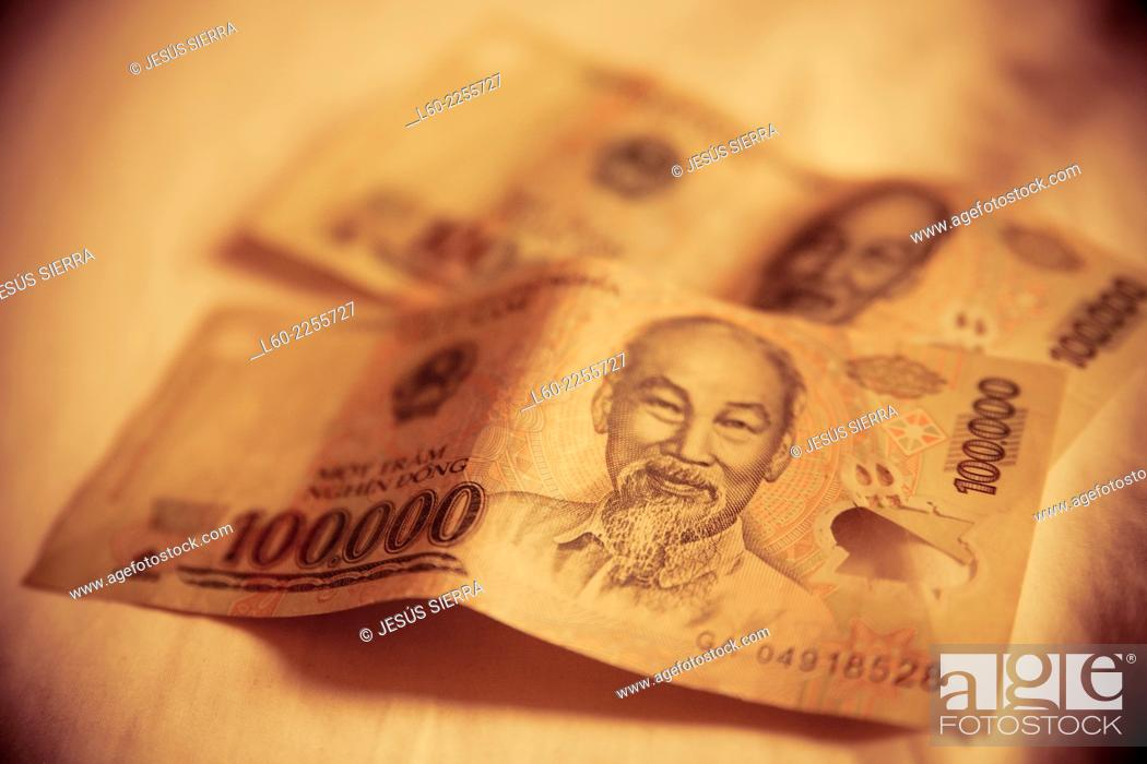 Imagen: Dong, Vietnamese money.